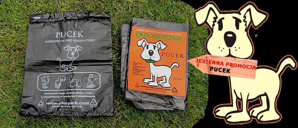 jesienna promocja pucek woreczki na psie kupy