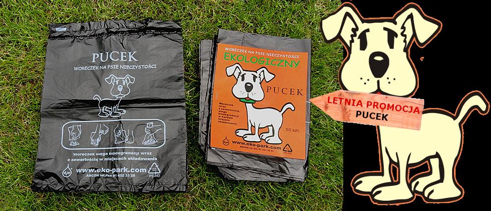 Letnia promocja Pucek woreczki na psie odchody