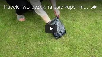 Pucek - biodegradowalne woreczki na psie odchody