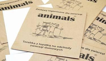 Torebki na psie odchody Animals